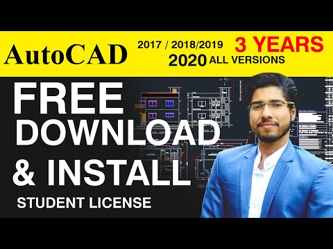 [Free] DOWNLOAD AutoCAD | INSTALL FOR 3 YEARS | STUDENT LICENSE