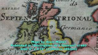 Small & Pocket Size Antique Maps, Rare Maps Review Episode 7