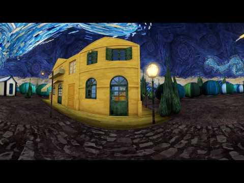 Video: El arte de Van Gogh en 360