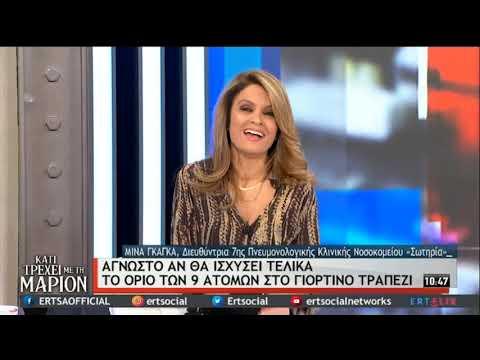 Μ.Γκάγκα   Αντίστροφη μέτρηση για την έναρξη των εμβολιασμών   19/12/2020   ΕΡΤ