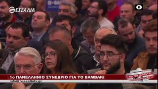 1ο Πανελλήνιο συνέδριο για το βαμβάκι _ Το Μαγκαζίνο της Θεσσαλίας 21 02 2020