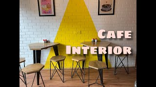 Cafe Interior Design By Zankhana BAMBHANIA