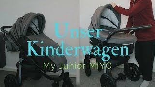 Kinderwagen Unboxing | My Junior MIYO 3 in 1 | Melis Family Blog