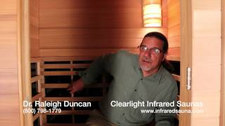Clearlight Sauna Mailbag -- What wood is better for infrared saunas, cedar or nordic spruce?