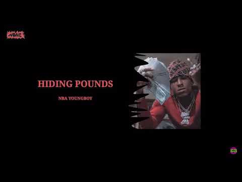 Youngboy Never Broke Again - Hiding Pounds (Official Audio)