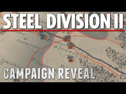 The Campaigns will be EPIC - Steel Division 2: Campaign Gameplay | reaction