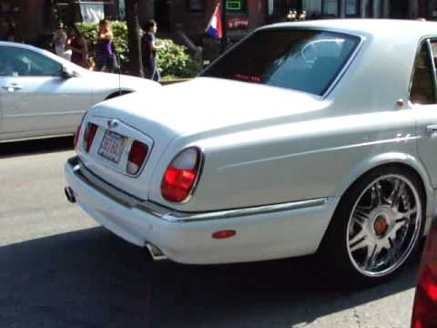 bentley arnage on MASSIVE wheels