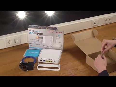Unboxing & installation of Sitecom WLR-6100 Wi-Fi Router X6
