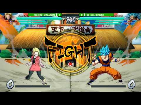 Final Round 2018: DBFZ: ECHO | Justin Wong vs Method | MikeandIke [Top 32]