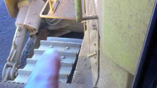 """Cat D10T """"How controls work  inside the cab"""""""