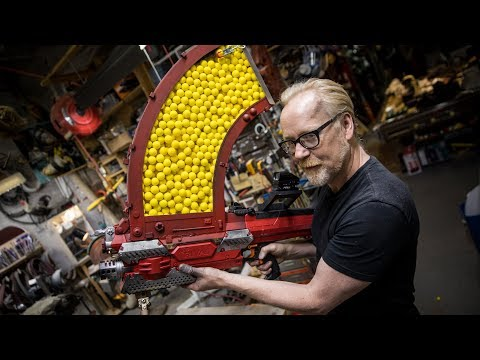 Adam Savage's One Day Build: 1000 Round Nerf Magazine