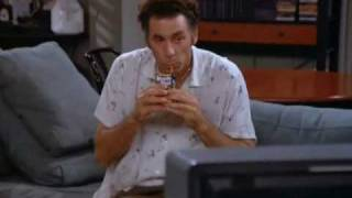 Seinfeld - George eating icecream