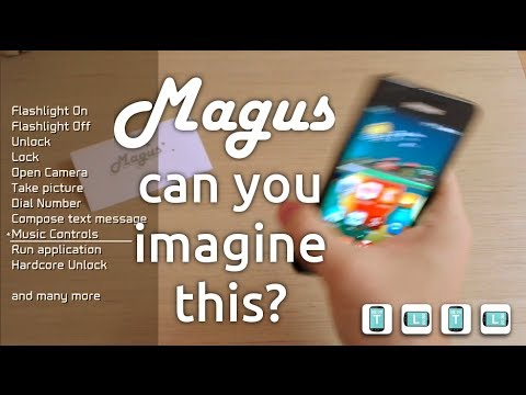 Video of Magus 3D Gesture Launcher
