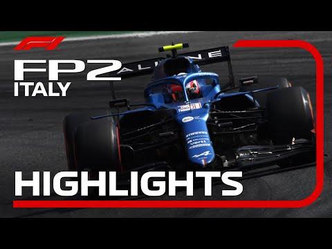F1第14戦イタリアGP(モンツァ)FP2ハイライト動画