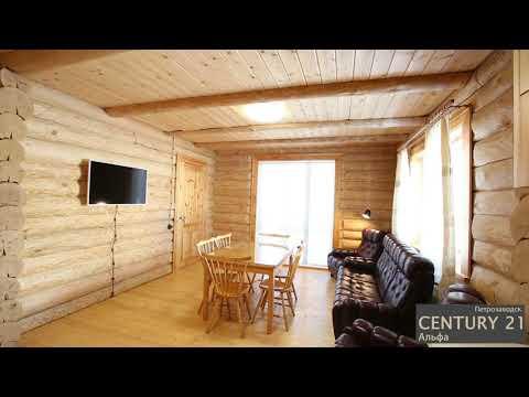 Уютный дом на берегу озера Суоярви! - Видео