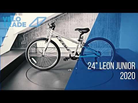 """Велосипед 24"""" Leon JUNIOR 2020: video"""