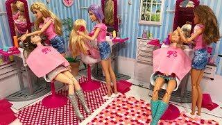 NEW Barbie Salon Set!!