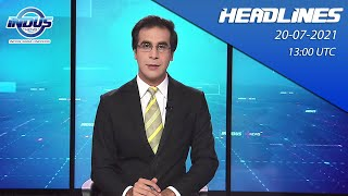Indus News Bulletin   13:00 UTC   20th July 2021