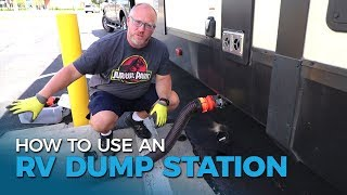 How To Use An RV Dump Station | Moving Day With Five2Go | Ep. 54