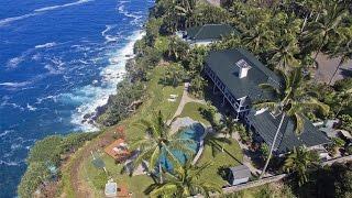 Enchanting Oceanfront Estate in Haiku, Hawaii