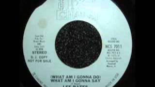 Lee Bates - What Am I Gonna Say
