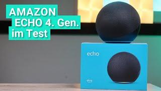 Amazon Echo 4. Gen. im Test - Das kann das neue Modell aus 2020 mit Soundvergleich zum Echo 3. Gen.