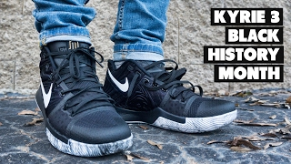 low priced bb34d 945f8 promo code for nike kyrie 3 bhm units 9497b 9cc16