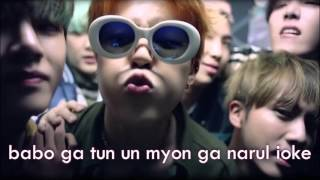 RUN - BTS (EASY LYRICS/AUDIO)