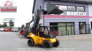 preview picture of video 'Forklift Gabelstapler Погрущик  JCB 520 BD-4231T'