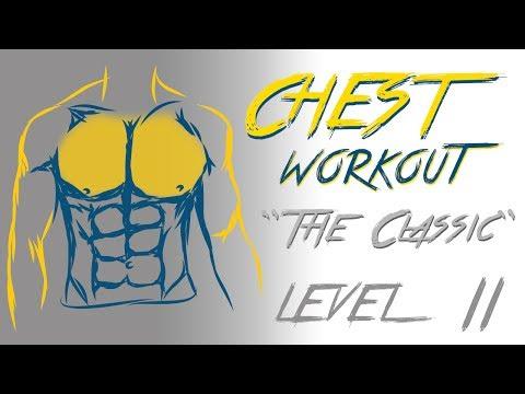 Ćwiczenia zacisnąć mięśni piersiowych i ręce