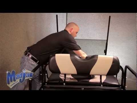 Rear Seat for Yamaha® G-22®   How to Install Video   Madjax® Golf Cart Accessory