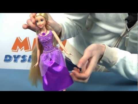 Sparkle Rapunzel Doll / Błyszcząca Roszpunka - Disney Princess - Mattel - www.MegaDyskont.pl