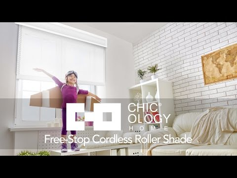 Video for Cloud White Cordless Roller 35 x 72 In. Solar Shade