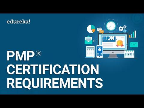 PMP Certification Requirements | PMP® Training | Edureka