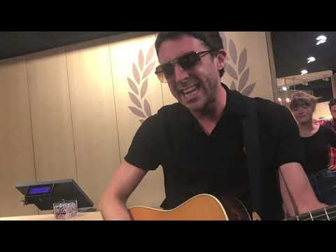 Miles Kane - Killing The Joke live @ Fred Perry Store (Köln)