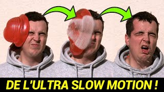 EXPLOSER UN BALLON D'EAU EN ULTRA SLOW MOTION ! (feat. @Stéphane Couchoud)