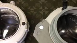 Hoover Waschmaschine Test nach dem Austausch der Wascheinheit bei einem Lagerschaden