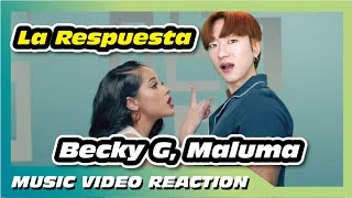 Becky G, Maluma   La Respuesta (Official Video) [Reaction]
