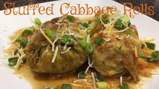 Stuffed Cabbage Rolls | Polish Golabki | Easy Step-by-Step Guide