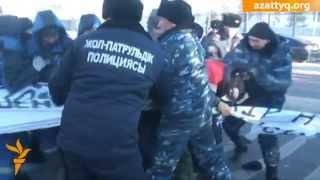 Протест строителей ЭКСПО-2017