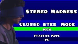 Geometry Dash - Level One Closed Eyes