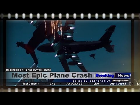 Steam Community :: Video :: Just Cause 3 - Epic Plane Crash