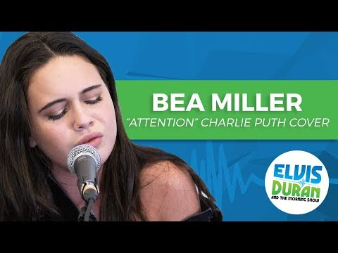 Bea Miller covers Charlie Puth's Attention, live in the Elvis Duran Performing Arts Center.