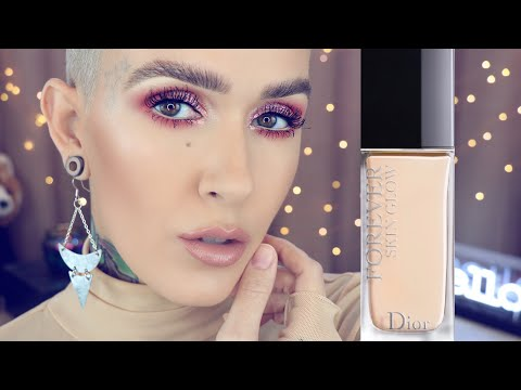 GLOW!!! New Dior Forever Skin Glow Foundation Review & Wear Test