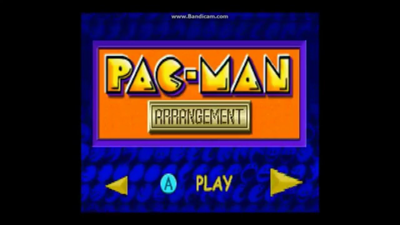 Pac-Man Collection (GBA) – Ravenking's Gameplay