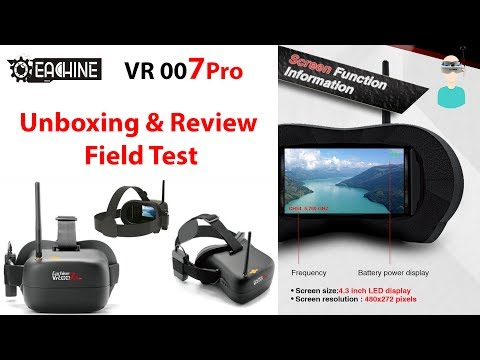 Eachine VR-007 Pro Unboxing, Review And Field Test