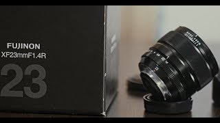 Fuji 23mm F1.4 (vs F2) review