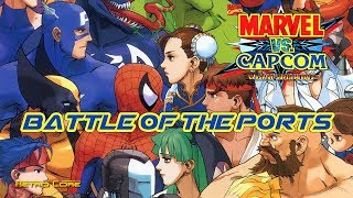Battle of the Ports - Marvel VS Capcom (マーヴル VS. カプコン) Show #226 - 60fps