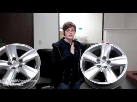 ES 350 Rims & ES 350 Wheels - Video of Lexus Factory, Original, OEM, stock new & used rim Co.