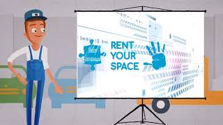 Промо ролик Rent Your Space для подрядчика